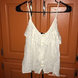 NWT American Eagle Top with Gold Dots Size Small